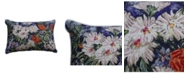Chicos Home May Flower Pillow Cover