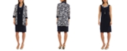 R & M Richards Dress & Printed Jacket