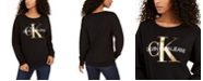 Calvin Klein Jeans Logo-Print Sweatshirt