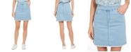 Style & Co Pull-On Frayed-Hem Skort, Created for Macy's