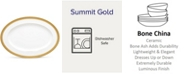 "Noritake Summit Gold Oval Platter, 16"""