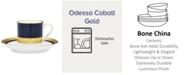 Noritake Odessa Cobalt Gold After Dinner Cup & Saucer