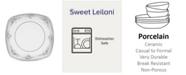 "Noritake Sweet Leilani Square Luncheon Plate, 8-3/4"""