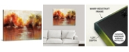 """GreatBigCanvas 40 in. x 30 in. """"Jeweled Water"""" by  Sydney Edmunds Canvas Wall Art"""
