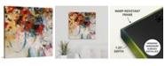 """GreatBigCanvas 24 in. x 24 in. """"Bouquet Toss"""" by  Jodi Maas Canvas Wall Art"""