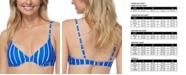 Raisins Juniors' Shore Thing Radical Underwire Bikini Top