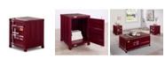 Furniture of America Wedgewood Rectangular End Table