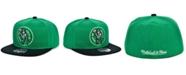 Mitchell & Ness Boston Celtics Wool 2 Tone Fitted Cap