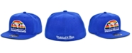 Mitchell & Ness Denver Nuggets Wool 2 Tone Fitted Cap