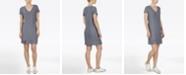 Adyson Parker Plus Size Short Sleeve V-Neck Knit Dress