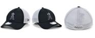 New Era Los Angeles Angels Black White Gradient Trucker 39THIRTY Cap