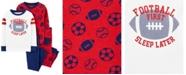 Carter's Baby Boy  4-Piece Football Snug Fit Cotton PJs