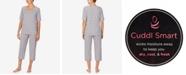Cuddl Duds Cuddl Smart Printed Capri Pajamas Set