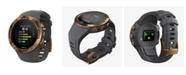 Suunto 5 Men's Graphite Silicon Strap Copper Compact GPS Sports Watch, 46mm