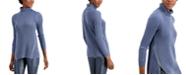 INC International Concepts INC Zipper-Trim Tunic Sweater, Created for Macy's