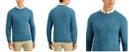 Tasso Elba Men's Striped Jacquard Sweater, Created for Macy's