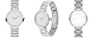 Movado Women's Swiss Museum Classic Stainless Steel Bracelet Watch 32mm
