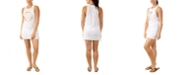 Miken Juniors' Graphic Lace-Up-Detail Cover-Up, Created for Macy's