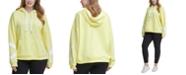Calvin Klein Plus Size Dropped-Shoulder Hooded Logo Sweatshirt