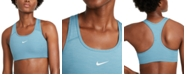 Nike Women's 1-Piece Pad Medium-Support Sports Bra