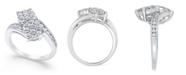 Macy's Diamond Bypass Ring (1 ct. t.w.) in 14k White Gold