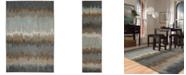 Karastan Euphoria Cashel Abyss Blue 8' x 11' Area Rug