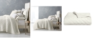 Hotel Collection CLOSEOUT! Trousseau Cotton Quilted Full/Queen Coverlet, Created for Macy's