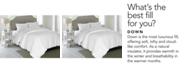 Elle Decor 1200-Thread Count Cotton Queen White Down Comforter