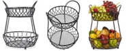 Mikasa Gourmet Basics By Loop & Lattice 2-Tier Basket