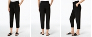 Eileen Fisher Tencel® Blend Pleated-Front Cropped Pants