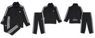 adidas Baby Boys 2-Pc. Three-Stripe Track Suit