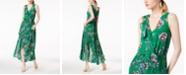Bar III Floral-Print Ruffled Maxi Dress, Created for Macy's