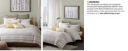 INK+IVY Lakeside 3-Pc. Full/Queen Duvet Cover Mini Set