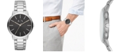 A|X Armani Exchange Men's Cayde Stainless Steel Bracelet Watch 42mm