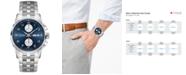 Hamilton Men's Swiss Automatic Jazzmaster Maestro Stainless Steel Bracelet Watch 41mm