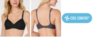 Hanes Ultimate Soft T-Shirt Wireless Bra with Cool Comfort DHHU03, Online only
