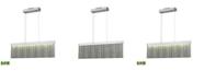 ELK Lighting Meadowland Billiard/Island Satin Aluminum/Polished Chrome