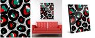 "Creative Gallery Many Faces Abstract 20"" x 24"" Acrylic Wall Art Print"