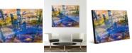 """Creative Gallery Biya Gamma Abstract 16"""" x 20"""" Acrylic Wall Art Print"""