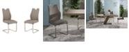 Armen Living Bravo Dining Chair (Set of 2)