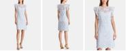 Lauren Ralph Lauren Lace Cap-Sleeve Dress