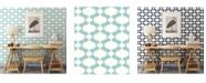 """Brewster Home Fashions Emilio Retro Wallpaper - 396"""" x 20.5"""" x 0.025"""""""
