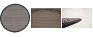 Bridgeport Home Pashio Pas6 Gray 6' x 6' Round Area Rug