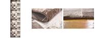 """Bridgeport Home Maasai Mss1 Light Brown 2' 7"""" x 10' Runner Area Rug"""