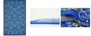 Bridgeport Home Arnav Arn1 Blue 5' x 8' Area Rug