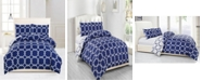 kensie Greyson Reversible 3-Pc. King Comforter Set