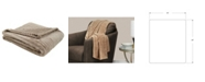 Monarch Specialties Ultra Soft Ribbed Style Throw
