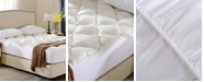 Cheer Collection Rayon from Bamboo Fitted Down Alternative Queen Mattress Pad