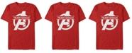 Marvel Men's Avengers Endgame Team Goals Logo Short Sleeve T-Shirt