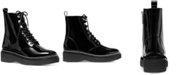 Michael Kors Haskell Combat Lug Sole Boots
